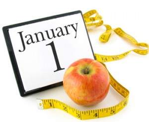 Losing weight is one of the most common new years' resolutions